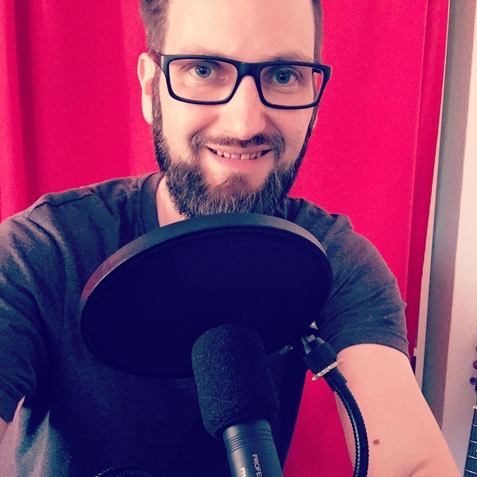 Chris Histel, Gründer des DIY-Music-Club