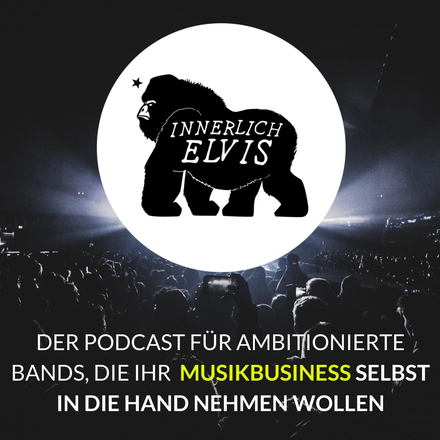 Der Podcast für ambitionierte Bands, die ihr Musikbusiness selbst in die Hand nehmen wollen
